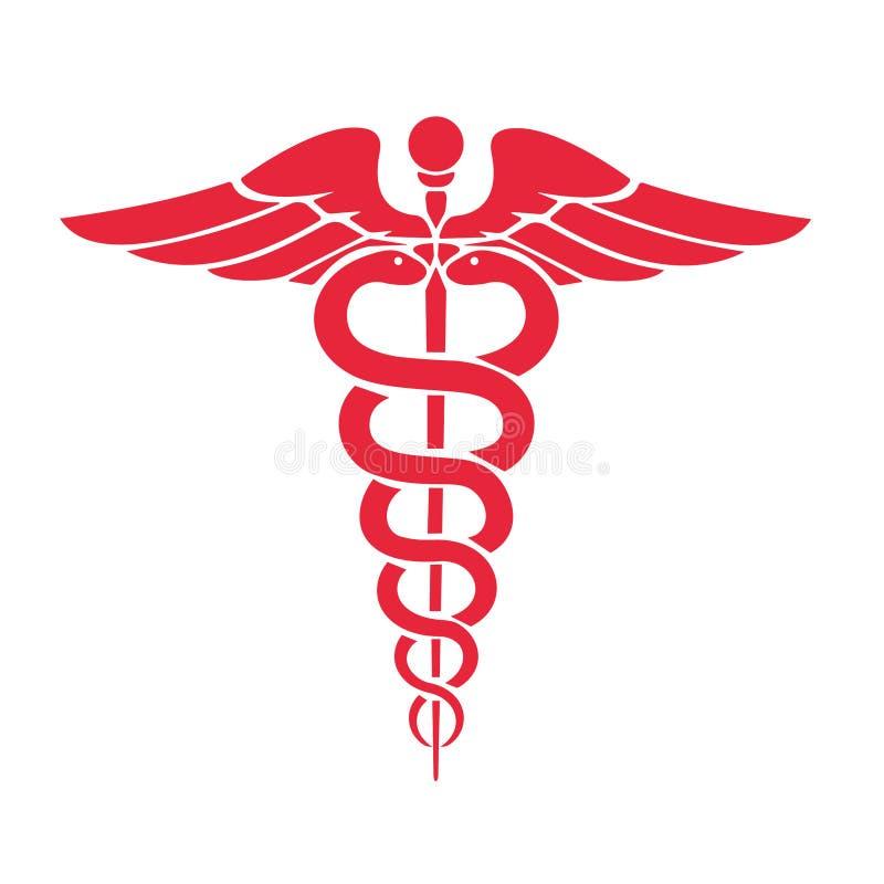 caduceus medical symbol stock vector illustration of icon 104579963 rh dreamstime com medical symbol vector meaning medical symbol vector download