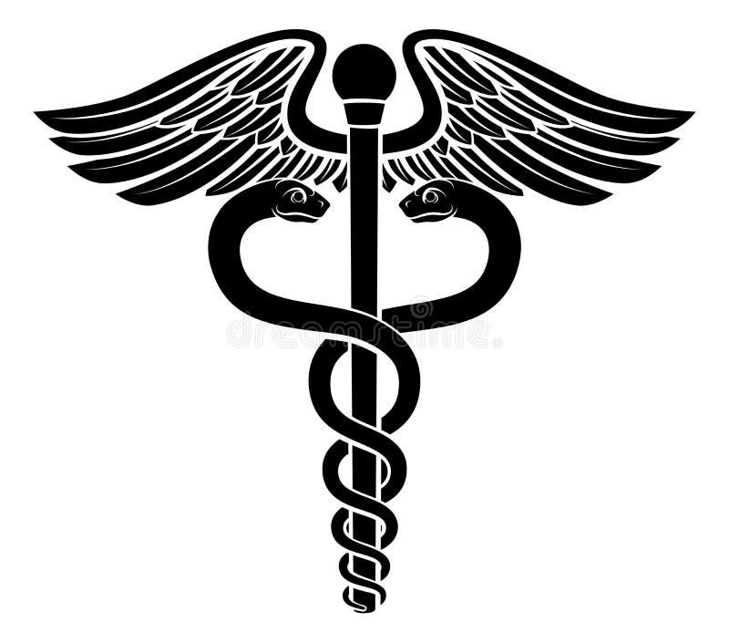 Caduceus Symbol Stock Vector Illustration Of Logo Drugs 76985073