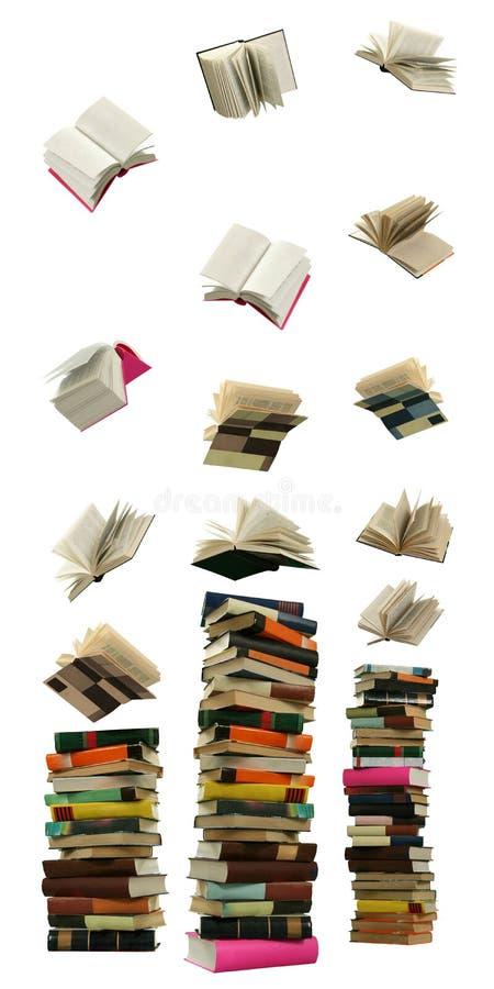 Caduta del libro immagini stock libere da diritti