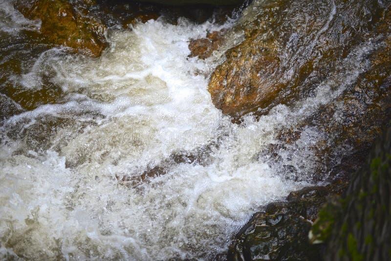 Caduta dell'acqua immagine stock