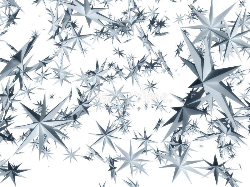 Caduta delle stelle illustrazione di stock