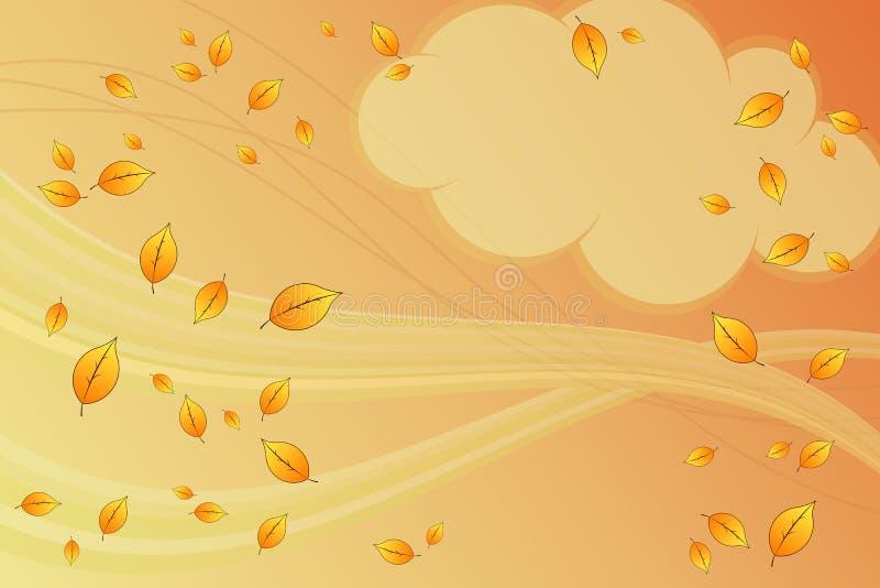 Caduta di autunno illustrazione di stock