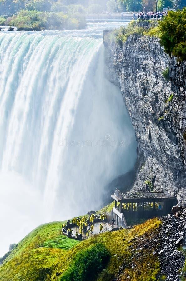 Caduta a ferro di cavallo, cascate del Niagara, Ontario, Canada fotografia stock libera da diritti