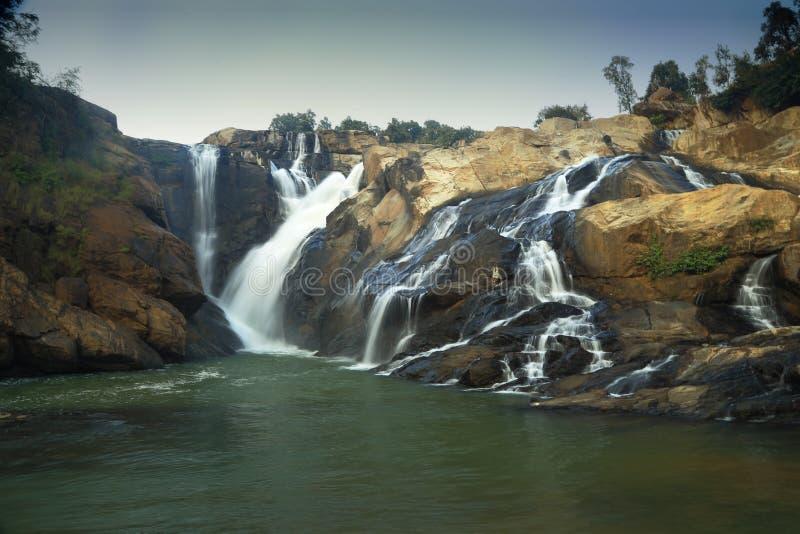 Caduta libera del fiume di kanchi fotografia stock libera da diritti