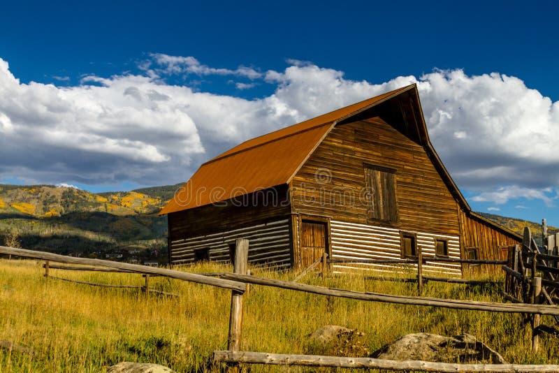 Caduta in Steamboat Springs Colorado fotografia stock