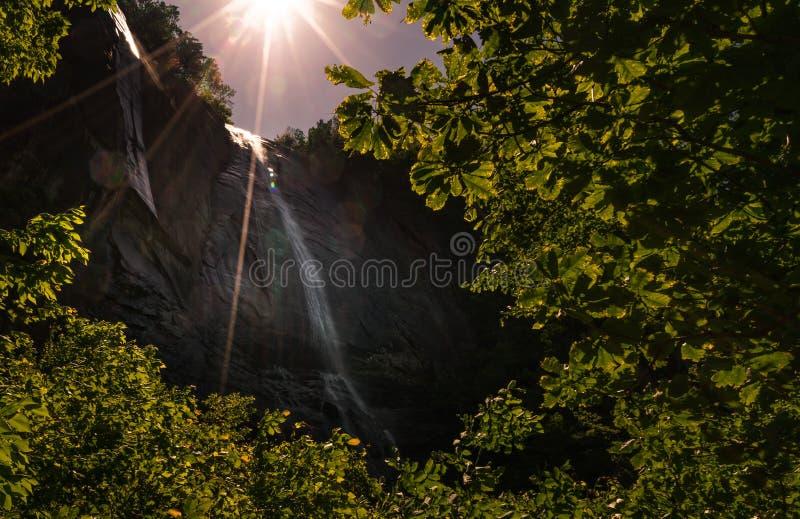 Cadute del dado di hickory da 404 piedi fotografia stock libera da diritti