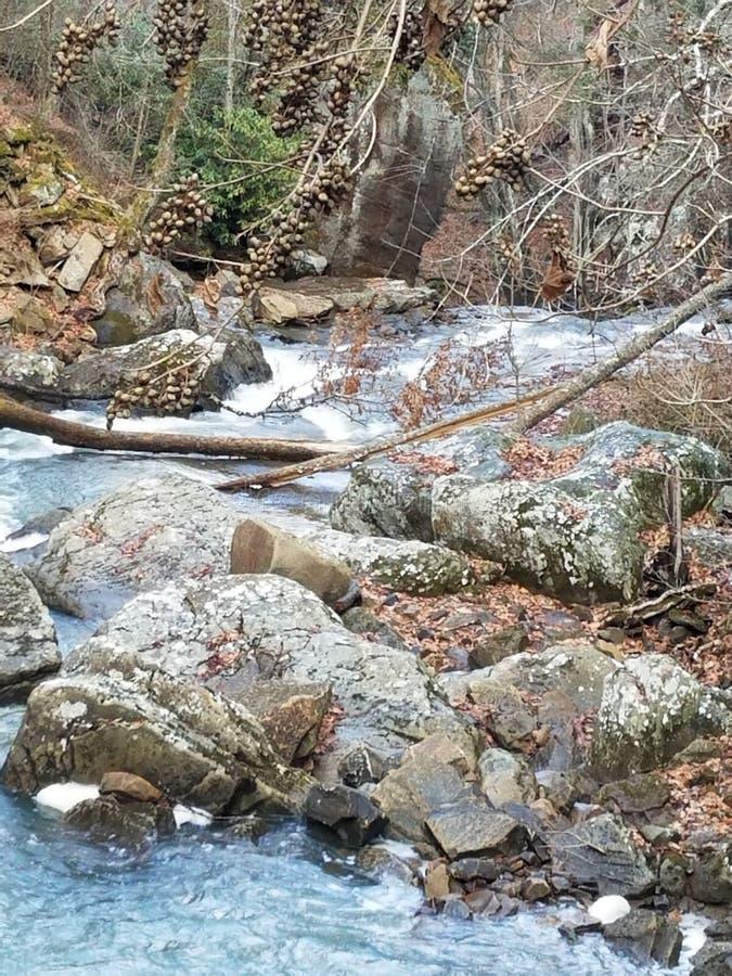 Cadute dell'acqua fotografia stock libera da diritti