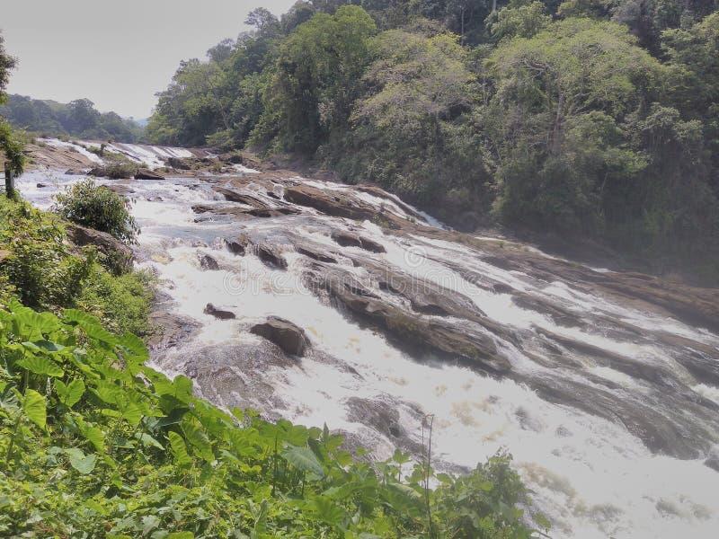 Cadute dell'acqua di Valachal fotografia stock