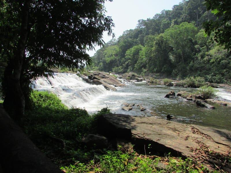 Cadute dell'acqua di Valachal immagine stock libera da diritti