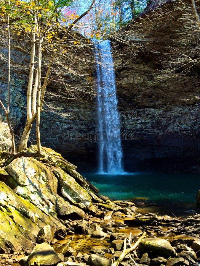 Cadute dell'ozono, la contea di Cumberland, Tennessee fotografia stock