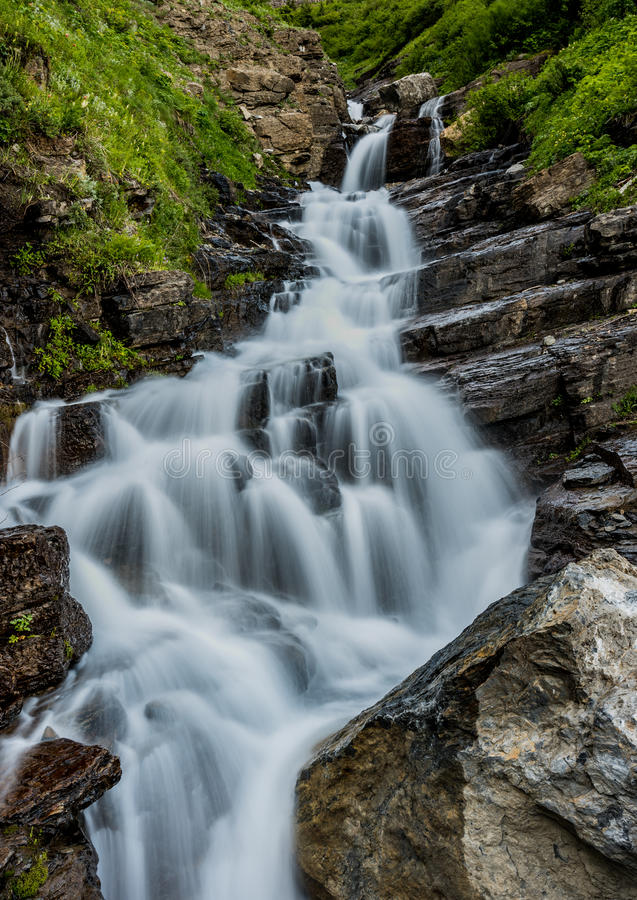 Cadute di Alder Creek immagine stock libera da diritti