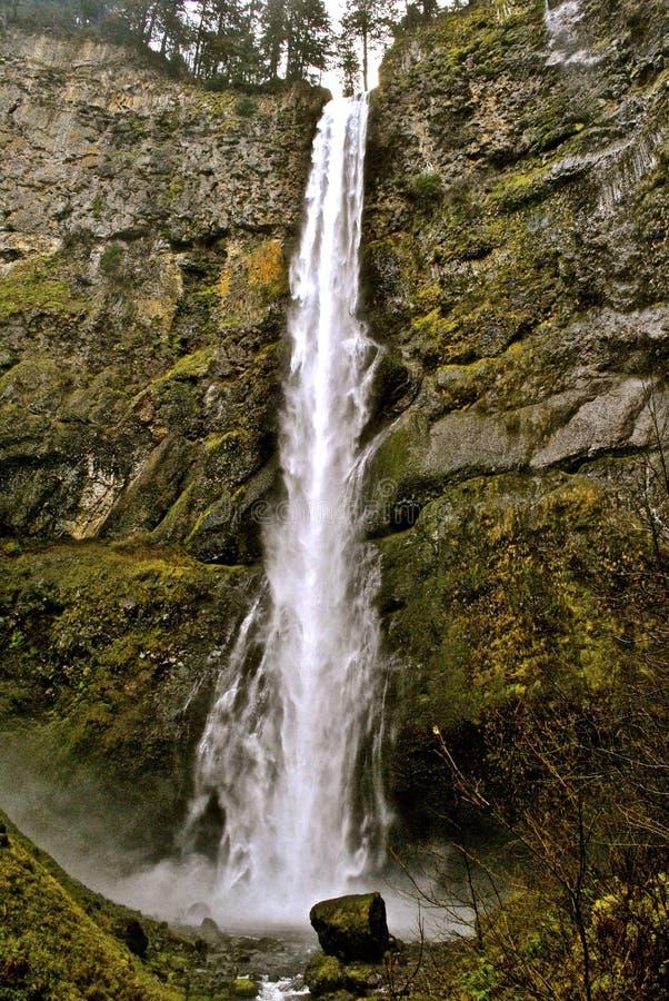 Cadute di Multnomah fotografia stock libera da diritti