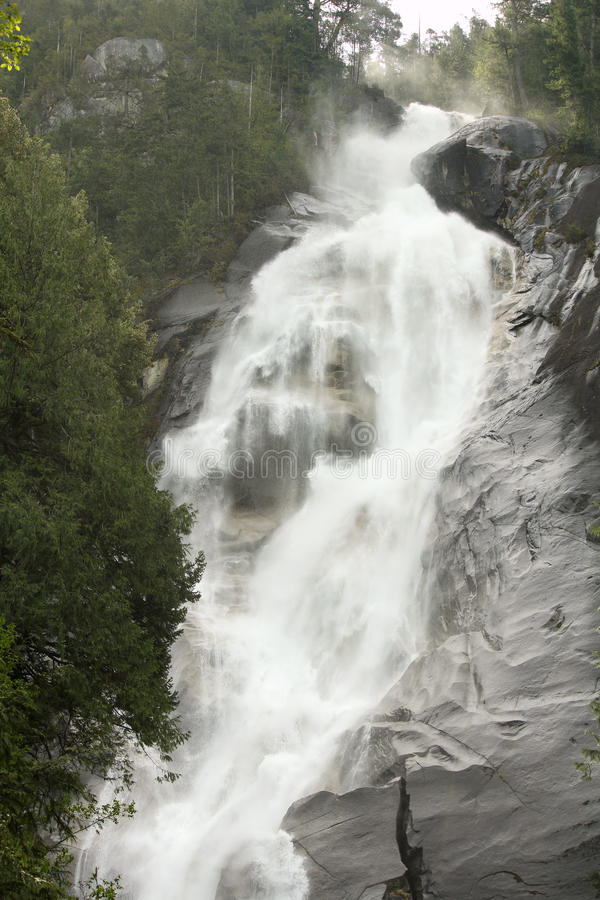 Cadute di Shannon, Columbia Britannica, Canada immagine stock libera da diritti
