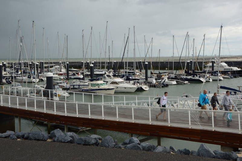 Cadzand Holland. North Sea. stock image