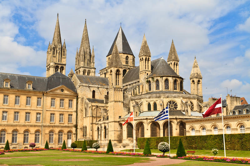 caen normandy france abbaye aux hommes stock photography image 22257522. Black Bedroom Furniture Sets. Home Design Ideas