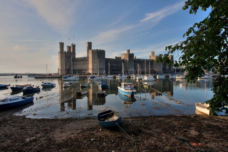 Download Caernarfon Castle stock photo. Image of seiont, caernarfon - 14853812