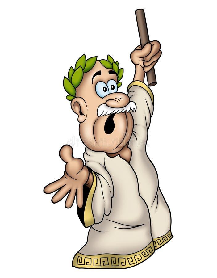 Caesar ilustração do vetor