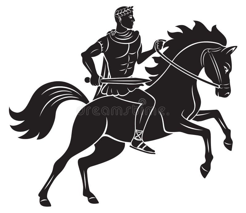 Caesar ilustração stock