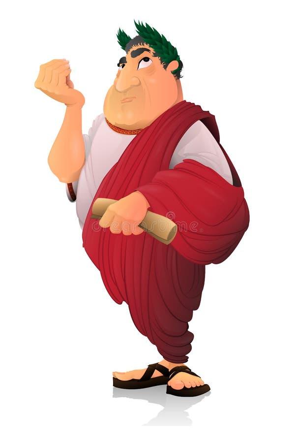 Caesar, Roman Senator stockfotos