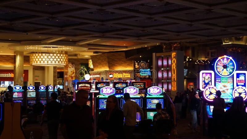Caesar's Palace Hotel und Kasino in Las Vegas, Nevada lizenzfreie stockfotografie