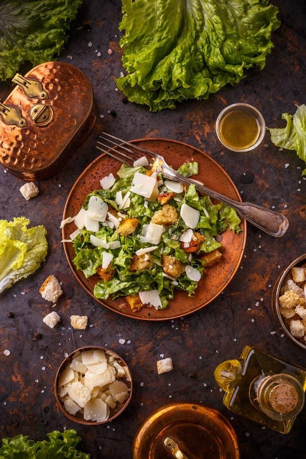 Caesar Salad immagini stock libere da diritti