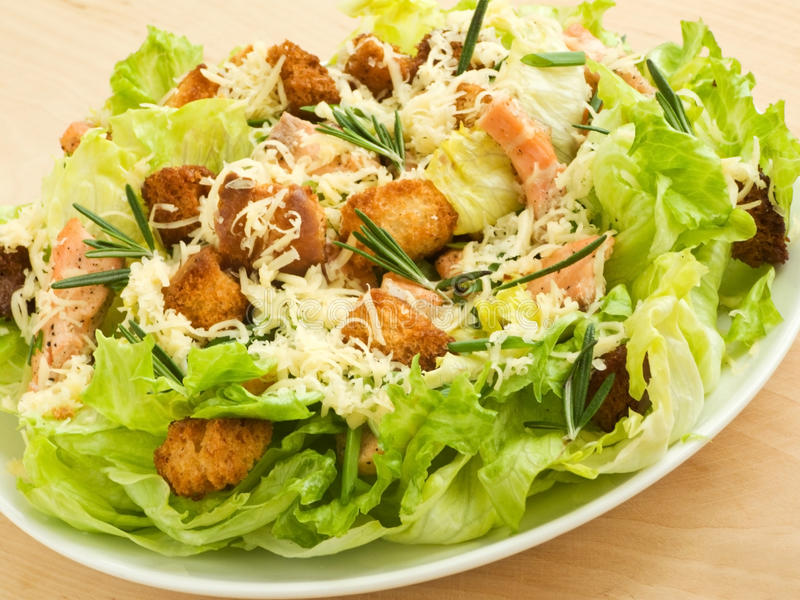 Download Caesar salad stock photo. Image of spice, healthy, dinner - 13887840