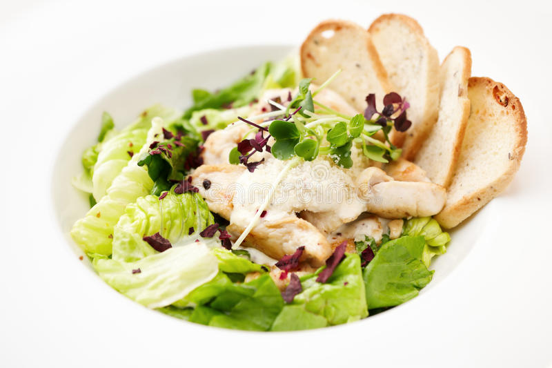 Download Caesar salad stock photo. Image of ingredient, bowl, delicious - 24283940