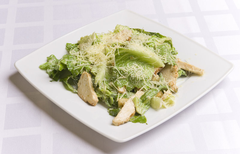 Download Caesar salad stock image. Image of backgrounds, bread - 6031467
