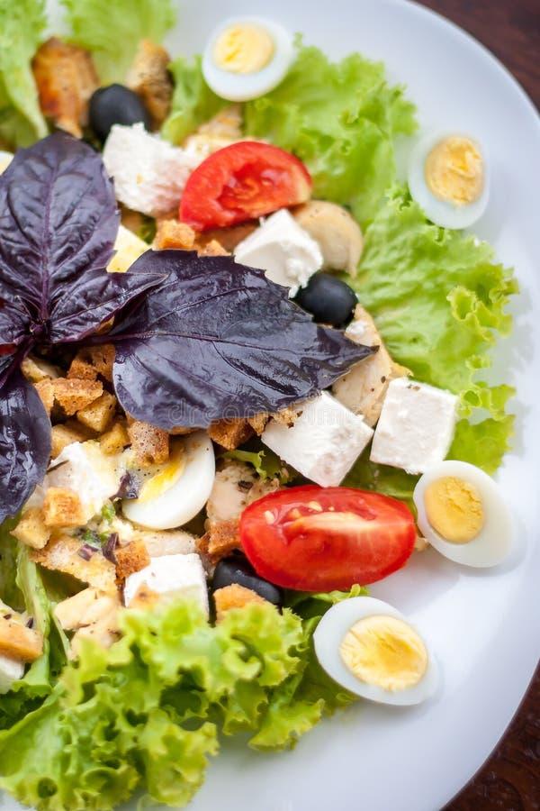 Caesar Salad lizenzfreies stockfoto