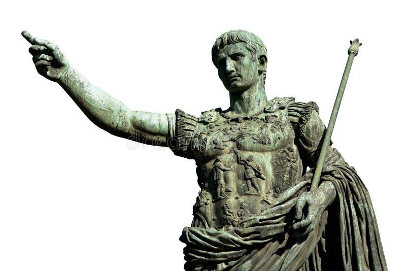 Caesara Augusto, il primo imperatore di Roma antica immagini stock libere da diritti