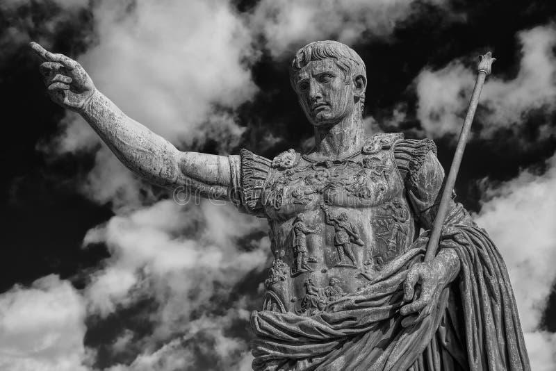 Caesara Augustus, le premier empereur de Rome antique photographie stock libre de droits