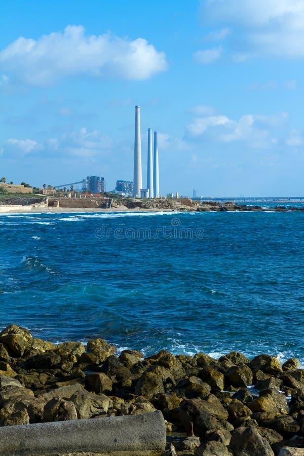 Caesarea royalty free stock image