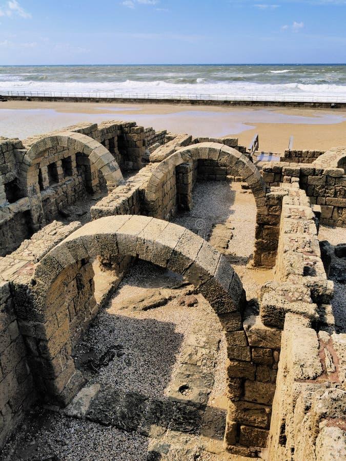 Caesarea fotografia de stock royalty free