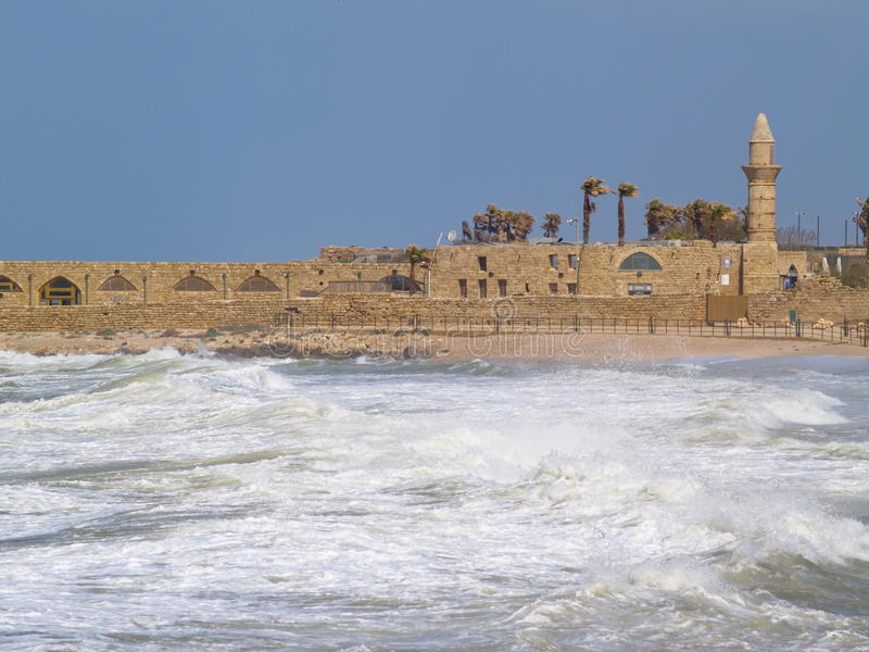 Caesarea foto de stock royalty free