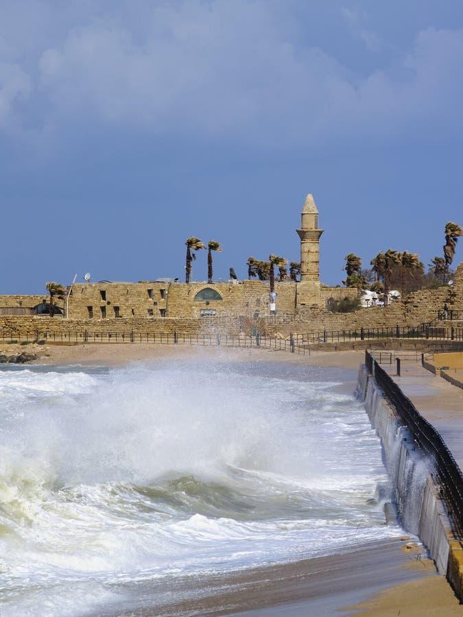 Caesarea fotografia de stock