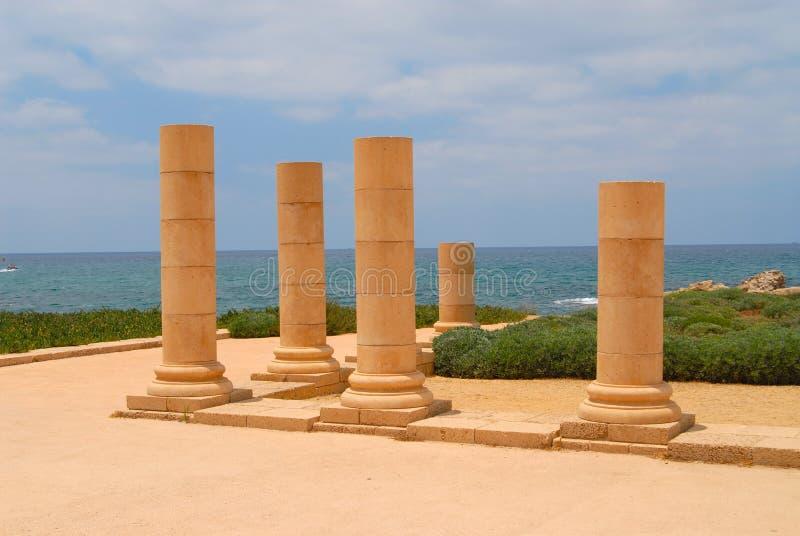 Caesarea imagens de stock