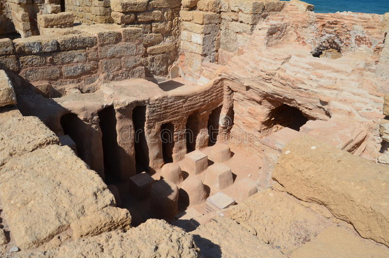 Caesarea foto de stock