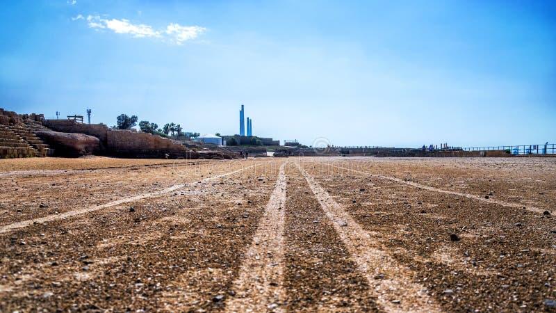Caesarea, Israel imagens de stock royalty free