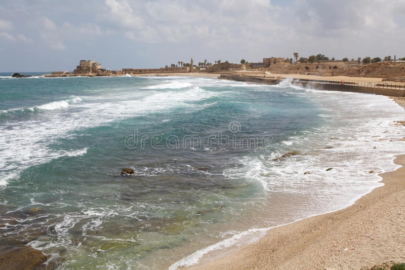 Download Caesarea Israel stock image. Image of destination, water - 31939927