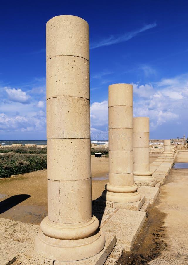 Caesarea Maritima imagem de stock
