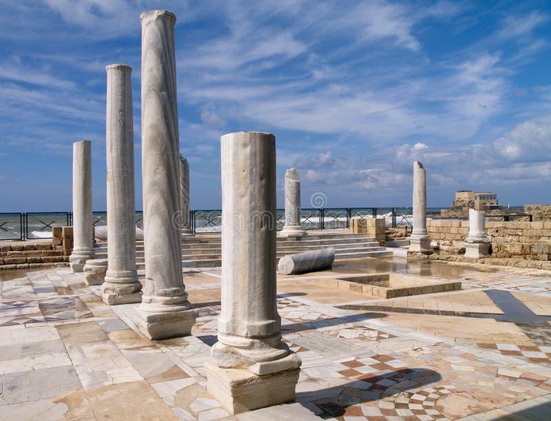 Caesarea Maritima foto de stock