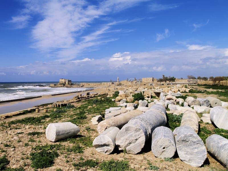 Caesarea Maritima imagem de stock royalty free
