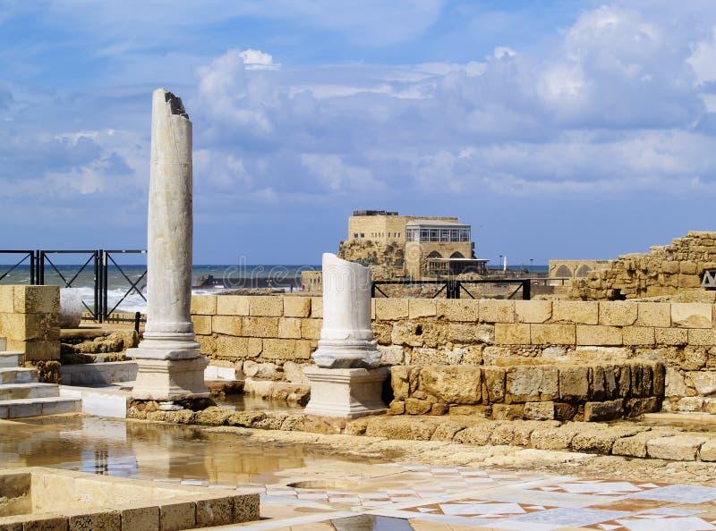Caesarea Maritima foto de stock royalty free