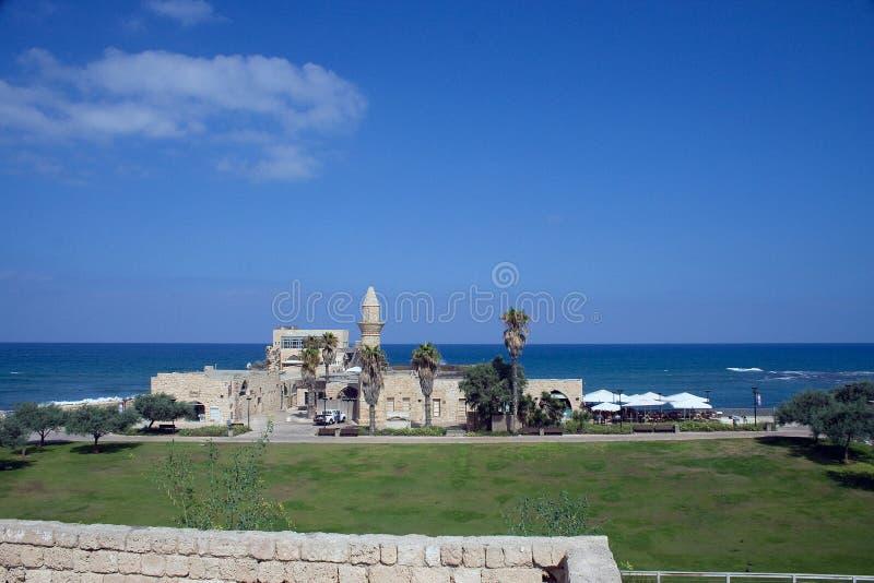 Caesaria israel lizenzfreie stockbilder