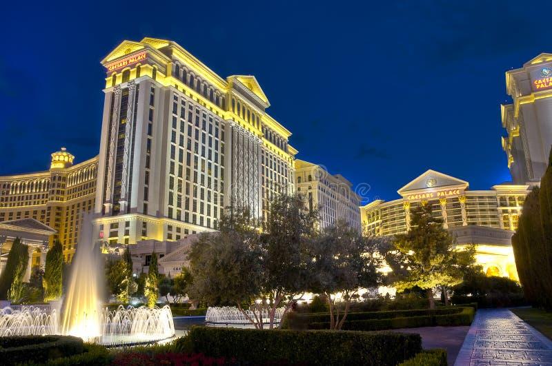 caesars旅馆宫殿 库存图片
