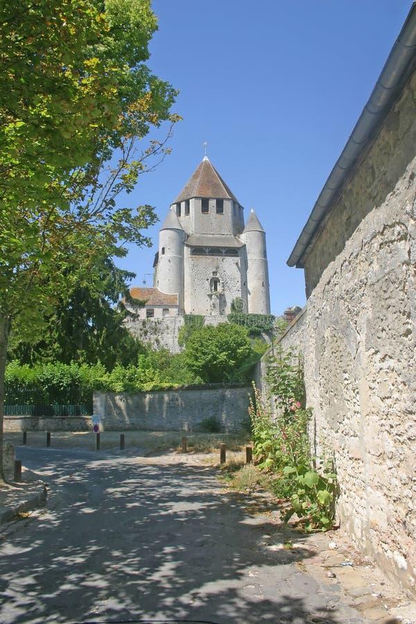 caesars πύργος της Γαλλίας provins στοκ εικόνα με δικαίωμα ελεύθερης χρήσης