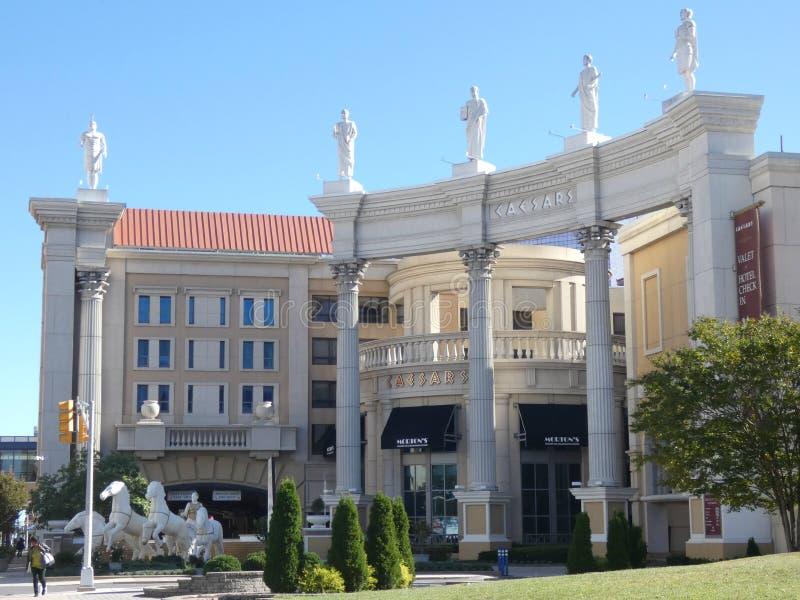 Caesars Atlantic City stock photography