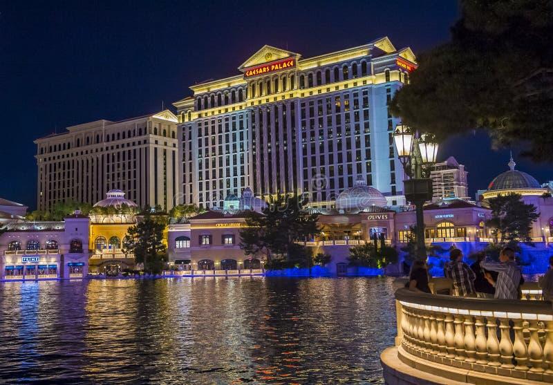 caesars las pałac Vegas obraz stock