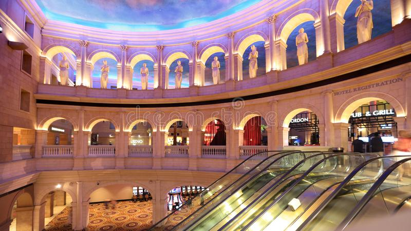 Caesars Palace in Atlantic City, New Jersey stock images