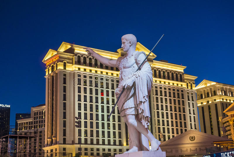 Caesars Palace di Las Vegas fotografia stock libera da diritti